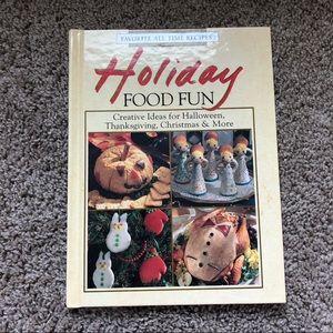 Holiday Food Fun Vintage Cookbook